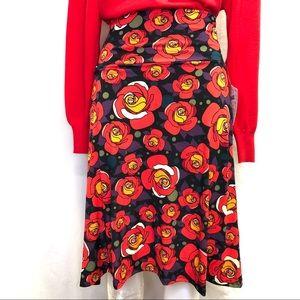 Women NWT LuLaRoe Azure skirt sz XS